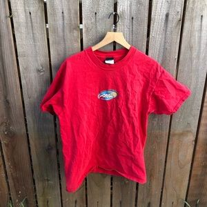 Vintage 90s No Fear Men's Red Shirt